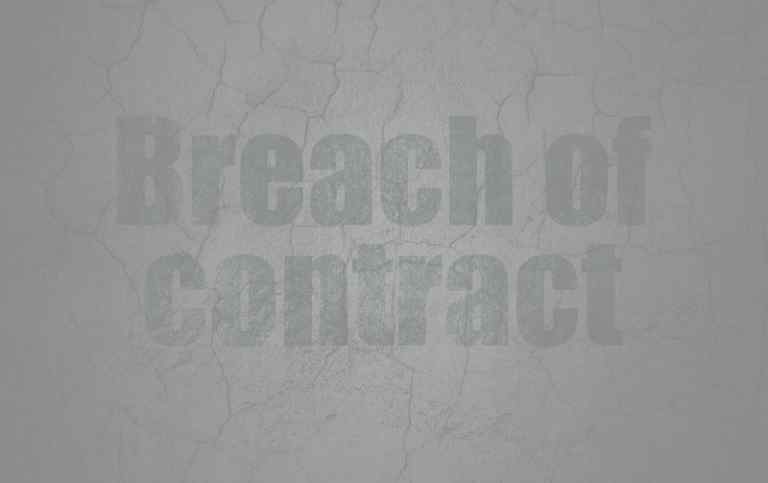 Orlando Breach Of Contract Lawyer  Walsh Banks Law