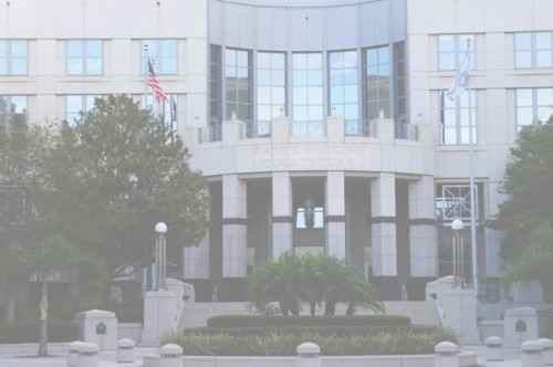 The Orange County Courthouse in Downtown Orlando is about 4 blocks from our office on Orange Avenue.